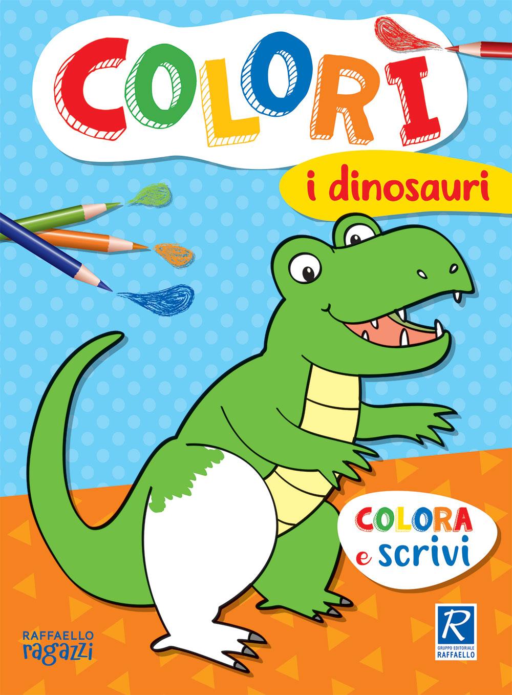 Colorì - I dinosauri