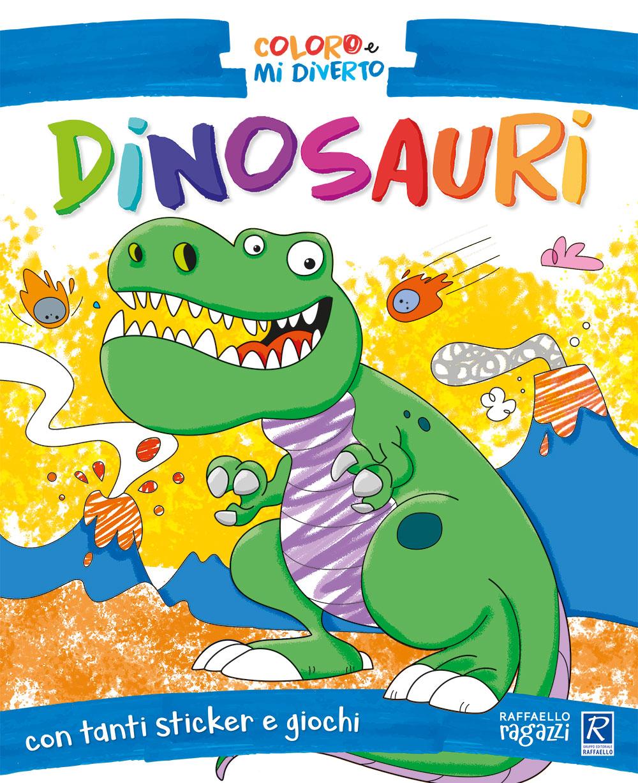 Coloro e mi diverto - Dinosauri