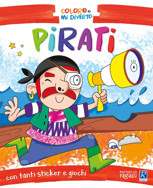 Coloro e mi diverto - Pirati