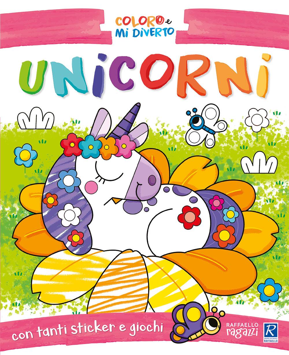 Coloro e mi diverto - Unicorni