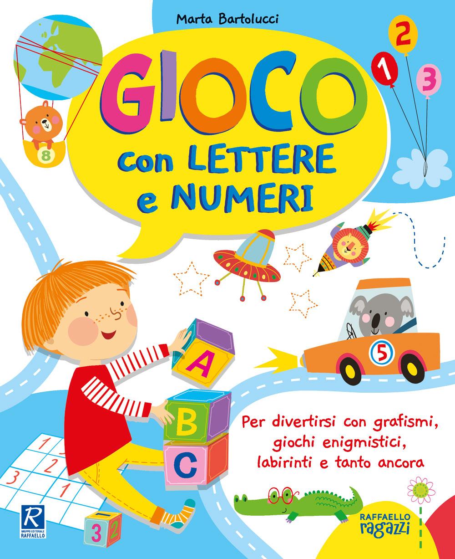 Gioco con lettere e numeri