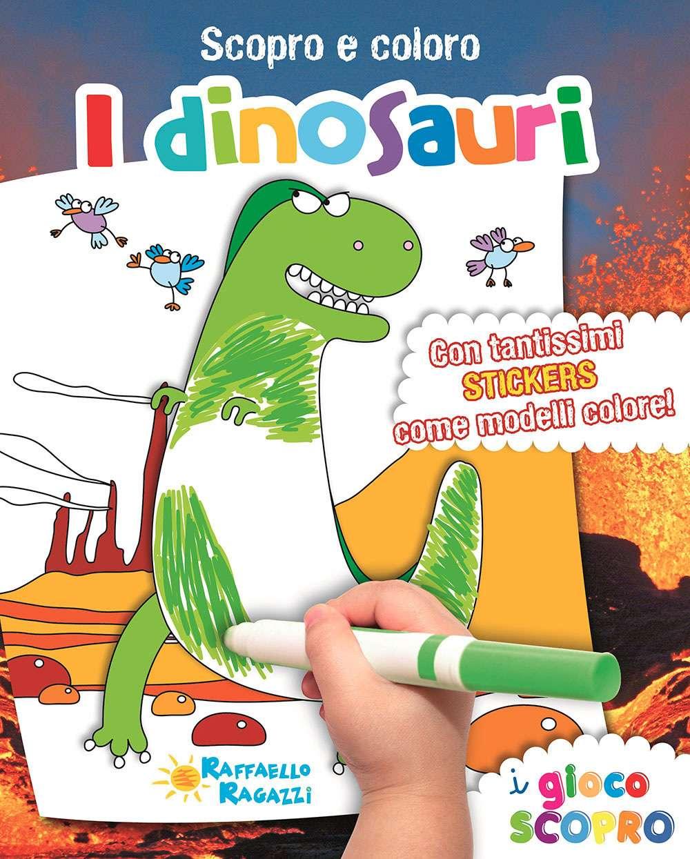Scopro e coloro - I dinosauri